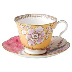 I pinned this Wedgwood Bouquet Cup & Saucer Set from the Fanciful Fare event at Joss and Main!