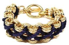 Nautical cord bracelet