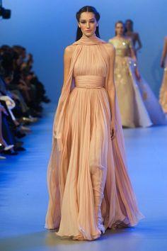 Elie Saab Spring 2014 Haute-Couture. via StyleList
