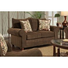 Chelsea Home Furniture North Brookfield Loveseat - 472122-L-GM