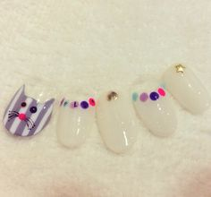 lovelish Modern Nails, Love Nails, Short Nails, Nail Tips, Beauty Nails, Nail Polish, Nail Art, How To Make, Manicures