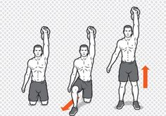 Kettlebell ExerciseWhat is Kettlebell Exercise? The kettlebell is not a new thing and it has been around for quite some time. Full Body Kettlebell Workout, Kettlebell Abs, Ab Workout Men, Kettlebell Training, Fitness Exercises, Kettlebell Benefits, Men Exercise, Boxing Workout, Russian Kettlebell