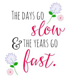 Years go fast!