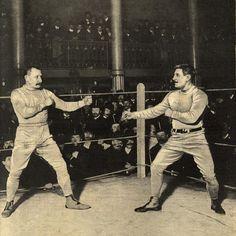 ☛ Charles Charlemont vs Victor Castérès [1898 ~ 1903, salle Wagram] ~ #savate #chausson #boxe #boxefrançaise