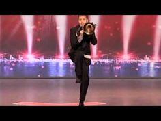 Jonathan Arons Dancing Trombonist (category - Novelty) America's Got Talent Season 3 2008 Song Bad Girls