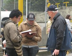 Sharing God's Word in Colombia Bible Scriptures, Gods Love, Canada Goose Jackets, Trips, Winter Jackets, Words, Life, Colombia, Traveling