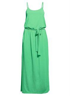 Vestido Longo com Alças Verde - Posthaus