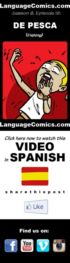 #Spanish practice and pronunciation. Enjoy and share! https://youtu.be/Y7zn3uLghbY