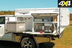 32 Camper Canopy Ideas That You Need To Consider And Have One For Yours , To help get you started, here are a couple questions that you should ask yourself as you consider your choices for your very first RV. For example, yo. Truck Canopy, Ute Canopy, Truck Bed, Camping Guide, Diy Camping, Camping Hacks, Camping Kitchen, Camping Ideas, Ute Trays