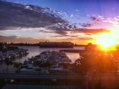 What could be better than the San Diego Bay at sunset? We love our view from the Marriott Marquis & Marina.
