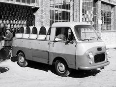 1957 Fiat 1100 T Pickup retro     h wallpaper background