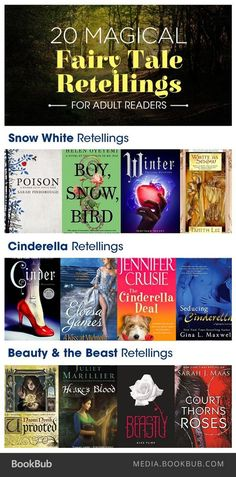 Adult readers will love the elements of our favorite classics with new twists and turns. | Young adult fantasy | YA fairy tale retellings