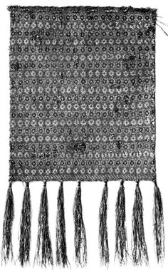 SionImage003.jpg 498×800 pixels 14th century knitted relic pouch: one of five from the treasury of the cathedral in Sion, Switzerland. Described in Rutt's _A History of Hand Knitting_ p. 50-52. In Rutt, this is pattern II.