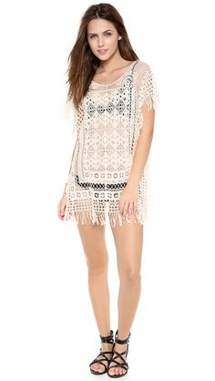 Super cute swim cover-up- LOVE this - on sale