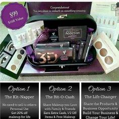 Last day to get this Presenter's Kit.  March 1st it will change. It's a  $99.00 investment plus S/H that will change your life.  Get your own Makeup Business. Message me or Click on this Link www.lashesnbeauty.com