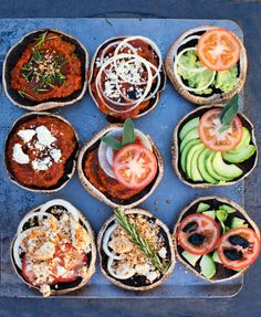 raw mini pizzas, just adjust or take out the avocado and coconut to make it 80/10/10 low fat