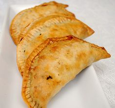 Corn, Black Beans & Beef Empanadas. soooo good!!!!!! I doubled the recipe and used 1 lb ground pork and 1lb ground sausage