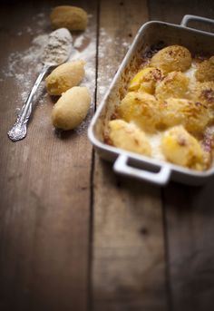 """Receta 257: Ñoquis sencillos » 1080 Fotos de cocina  - proyecto basado en el libro """"1080 recetas de cocina"""", de Simone Ortega. http://www.alianzaeditorial.es/minisites/1080/index.html"""