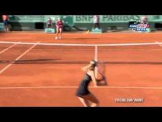 Sharapova vs. Kvitova, Highlights | Roland Garros, 2012 French Open