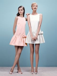 Paule Ka: Spring Summer Collection 2012 Look 5: Ottoman Dress. The model on the right is Noreen Carmody.