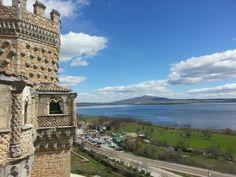 Castillo de Manzanares el Real. Madrid. Marzo 2014