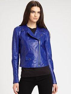 Theory - Elenian Leather Jacket