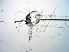 calligraphy / Claudio Gil - La grafia 21
