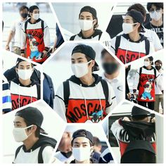 Xiumin airport fashion for EXOLUXION in THAILAND