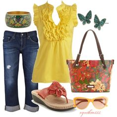 Pretty Colors, created by cynthia335 on Polyvore