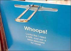 Whoops Out-of-Stock Back Tag – But Just Ask Sales Associate for More! School Store, Retail Signage, Pop Display, Visual Merchandising, Messages, Tags, Gifts, Binder, Hooks