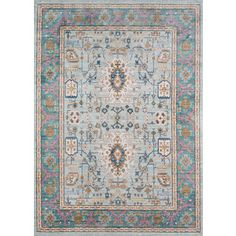 Shop for Harlow Adoria Teal Area Rug (8' x 10'2). Get free shipping at Overstock.com - Your Online Home Decor Outlet Store! Get 5% in rewards with Club O! - 20143122