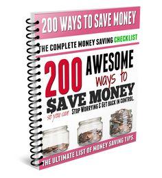 200 Ways to Save Money