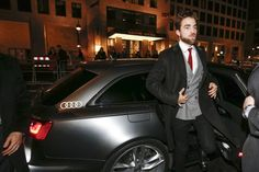 Rob at Berlin Film Festival (Berlinale) for Life premiere, 2-8-15 (56)  arriving like a boss