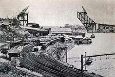 Construction of Sydney Harbour Bridge.v@e
