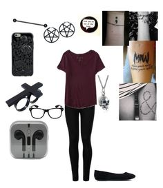 """""""Untitled #243"""" by kyleruniverse on Polyvore featuring Wolford, Aéropostale and Black Pearl"""