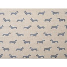 Buy Emily Bond Dachshund Furnishing Fabric, Blue from our View All Fabrics range at John Lewis & Partners. Lounge Curtains, Emily Bond, Stiffkey Blue, Bike Room, Garden Cushions, Big Rugs, Plains Background, Dark Furniture, Bedroom Themes