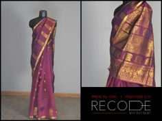 Nothing can substitute a Kanijivaram. www.facebook.com/Fashion.Recode