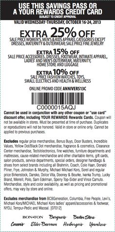 graphic about Younkers Coupons Printable called Younkers coupon publications : Absolutely free discount codes for the duration of postal deliver