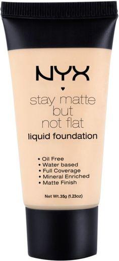 Nyx Cosmetics Stay Matte But Not Flat Liquid Foundation Ivory Ulta.com - Cosmetics, Fragrance, Salon and Beauty Gifts