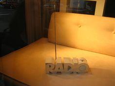 "Radio Shack ""Radio"" Radio Window Displays, Table Lamp, Home Decor, Store Windows, Homemade Home Decor, Shop Displays, Table Lamps, Interior Design, Home Interiors"
