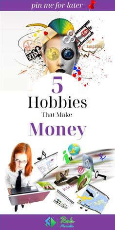 Now, you may be wondering what are the hobbies that make money online. Find out with these 5 hobbies that make money for stay at home moms. Hobby to make money Hobbies To Try, Hobbies For Women, Hobbies That Make Money, Ways To Earn Money, Make Money From Home, Make Money Online, Things To Sell, Start A Business From Home, Work From Home Moms