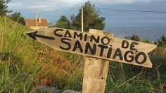 En el Camino del Norte St Jacques, Head And Heart, The Camino, Paths, Signs, Travel, Arrow, Camino De Santiago, Santiago De Compostela