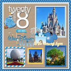 Made using  Kellybell Designs Collage Crazy Covers Kellybell Designs Collage Crazy Titles Kellybell Designs Magical Memories DISNEY WORLD