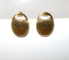 Monet Clip On Earrings by vintagerepublic1 on Etsy, $24.00