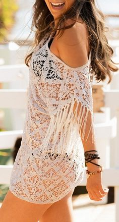 Beach Style 2014 Collection – Boho Beach Cover up