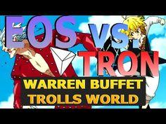EOS vs Tron - Warren Buffett Trolling the World - ADA Cardano Bests Litecoin - BCH Lawsuit - YouTube Make Money Online, How To Make Money, Warren Buffett, Crypto Currencies, Bank Account, Blockchain, Eos, Troll, Download Video