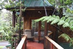 Volcano Tree House exterior
