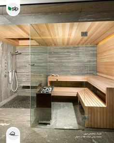 Sauna In The Home- 17 Outstanding Ideas That Everyone Need T.- Sauna In The Home- 17 Outstanding Ideas That Everyone Need To See Sauna In The Home 17 Outstanding Ideas That Everyone Need To See - Sauna Steam Room, Sauna Room, Spa Design, Design Ideas, Spa Interior Design, Gym Interior, Interior Garden, Interior Modern, Modern Luxury