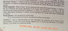 Asociación de Voluntarios Isleños de San Fernando. EXPROTEC.: A QUE ESPERAN¡¡