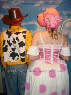 G-Rated Adult Couple Costume: Woody and Bo Peep ... This website is the Pinterest of costumes